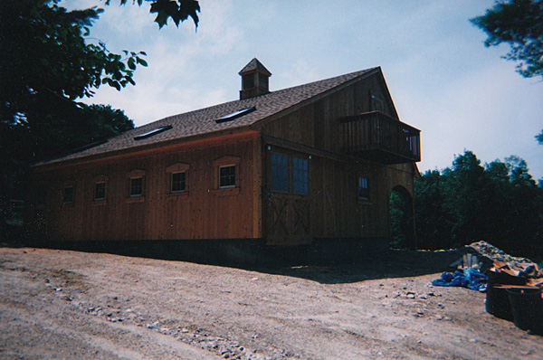 Norfolk Ct Custom Barns The Post And Beam Construction