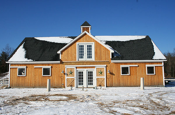 New england horse barn plans sepala for Maine post and beam kits